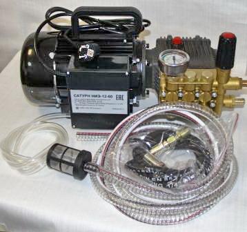 Электрический опрессовочный насос САТУРН НИЭ-12-60
