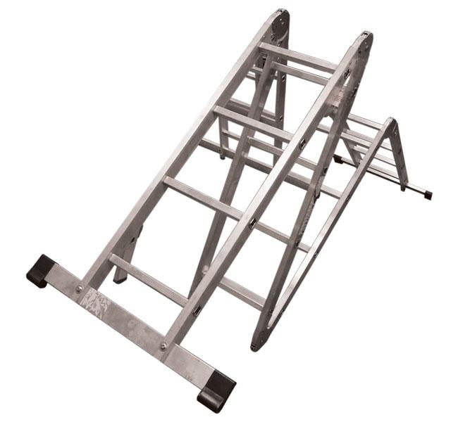 Лестница трансформер Алюмет Т 444 4х4