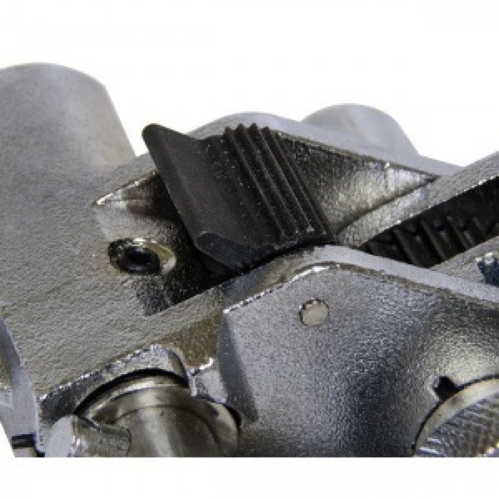 Инструмент для натяжения и резки стальной ленты с храповым механизмом SHTOK 23607