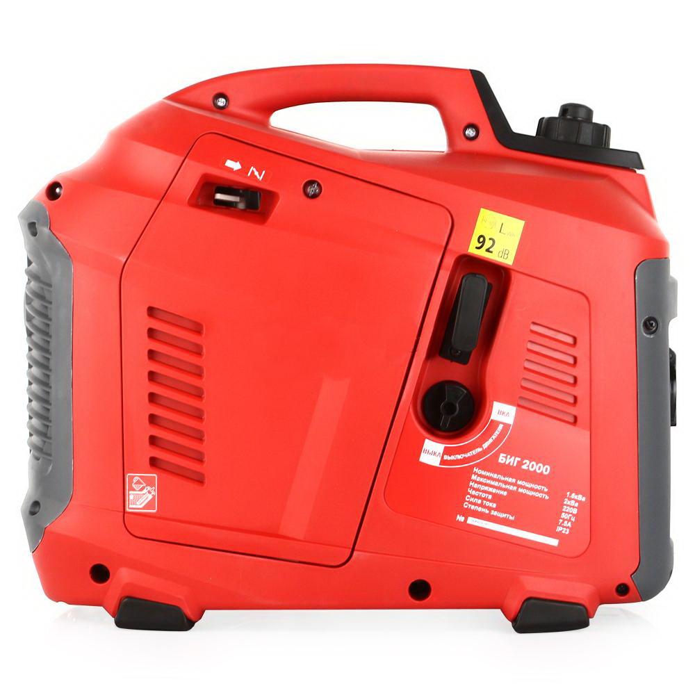 Генератор бензиновый инверторный ELITECH БИГ 2000Р 1,7 кВт