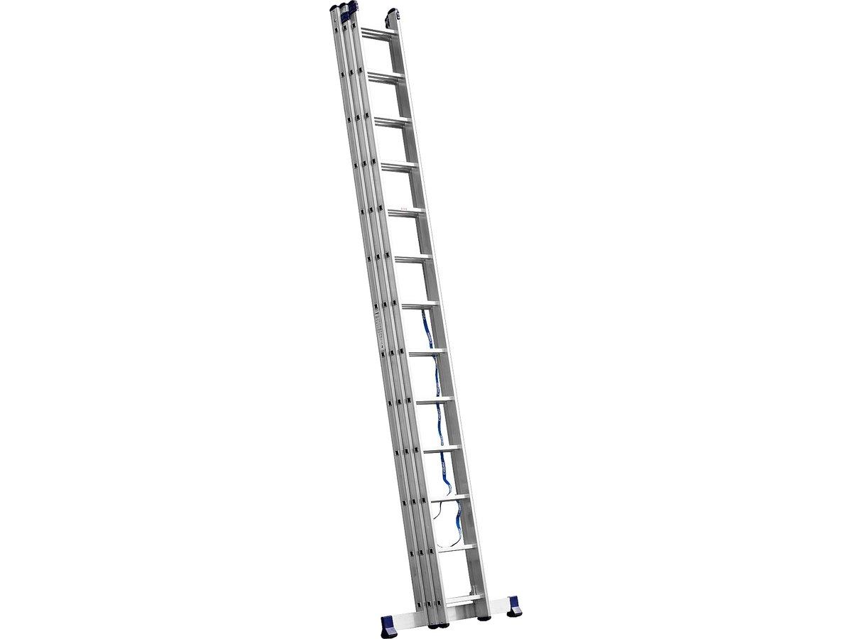 Лестница-стремянка трех секционная АЛЮМЕТ 6313 3х13