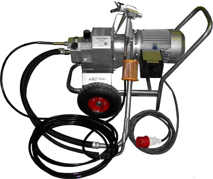 Окрасочный аппарат высокого давления Вагнер-7000 (380В)