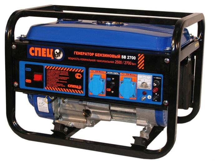 Генератор СПЕЦ SB -2700 2,8 кВт
