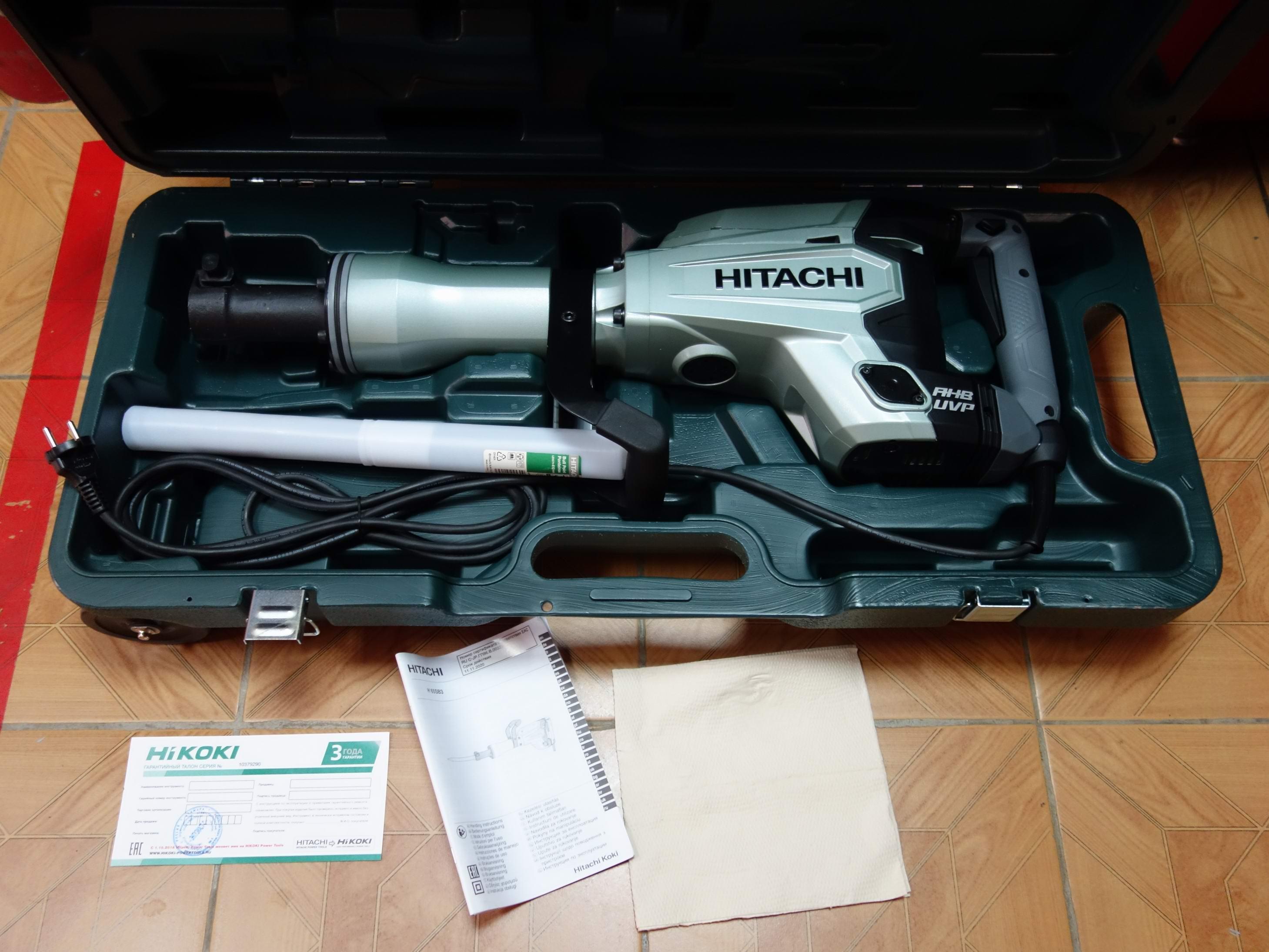 Отбойный молоток  Hitachi H65SB3