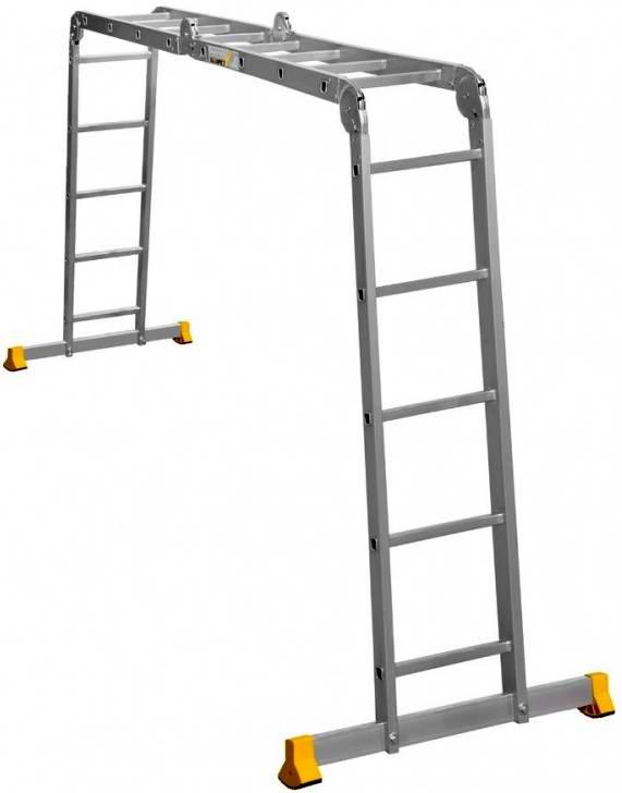 Лестница трансформер Алюмет Т 455 4х5