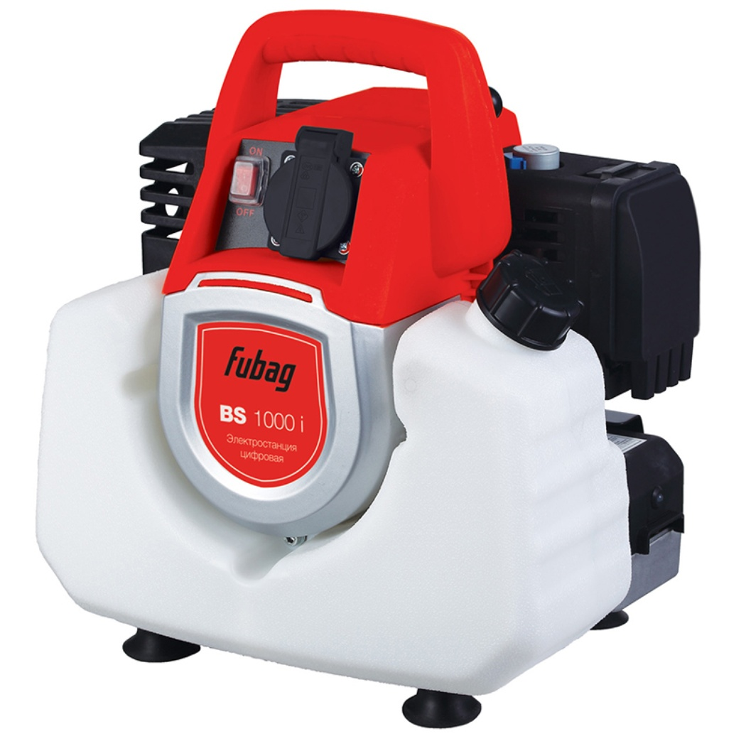 Генератор бензиновый инверторный FUBAG BS 1000i 0,8 кВт