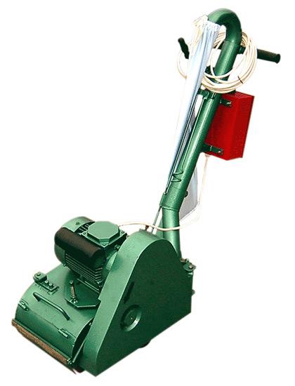 Паркетошлифовальная машина СО-206 (шлифмашина для деревянных полов)