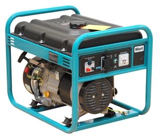 Генератор бензиновый WERT G3000 2,5 кВт